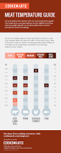 meat temperature guide meat temperature guide meat and infographics