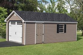 Cottage Style Garage Doors by Vinyl Garage Shed