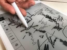 remarkable u0027s lag free e ink sketch tablet arrives in august cnet