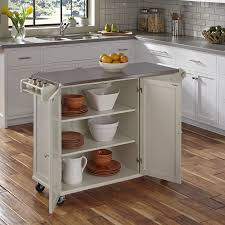 kitchen island with stainless steel top andover mills kuhnhenn kitchen island with stainless steel top