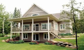 walkout ranch house plans uncategorized 2 story walkout basement house plans in imposing