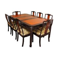shop oriental furniture two tone rosewood dining set at lowes com