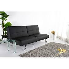 jacksonville black foldable futon sofa bed free shipping today