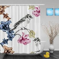 Bird Shower Curtains Bird Shower Curtains U2013 Bird Bounty