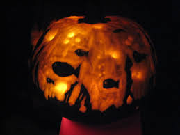oogie boogie pumpkin carving ideas fish bowl relief carved pumpkin my creativity at work