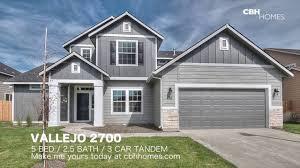 cbh homes vallejo 2700 5 bed 2 5 bath 3 car tandem garage