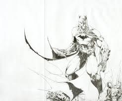 batman jim lee art style by rockafella08 on deviantart