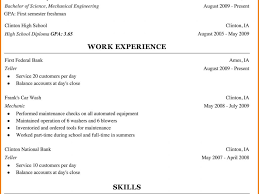 Car Wash Resume Chic Inspiration Resume For College Freshmen 4 Resume For College
