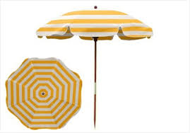 Patio Umbrella Pole Replacement Patio Umbrella Pole Replacement Warm 7 5 Ft Yellow And White