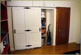 How To Make A Sliding Closet Door Closet Closet Door Diy White Bypass Closet Doors Projects Closet