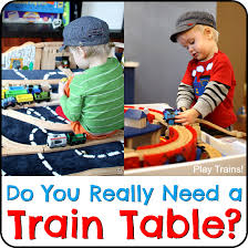 diy folding train table best train tables the ultimate wooden train guide