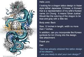 asian dragon tattoos custom tattoos made to order by juno