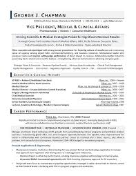 executive resume exles science industry resume exles vpmed jobsxs