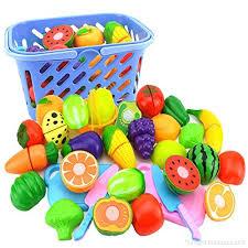 kit cuisine enfants cuisine enfant itechor 23pcs kits de magie avec panier légumes à