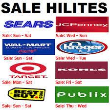 weekly sale ads and sale hilites of walmart kroger