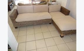 canapé en osier canapé d angle osier annonce meubles et décoration martin