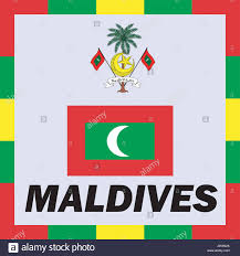 Miniature Flags National Flag Maldives Travel Stock Photos U0026 National Flag