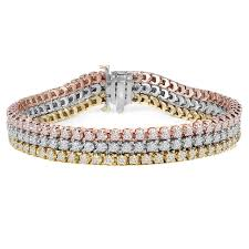 white gold rose bracelet images Tennis bracelet with diamonds bijoux majesty jpg