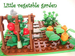 lego ideas little vegetable garden