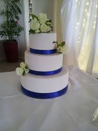 wedding cake ribbon blue ribbon wedding cake coastal cake design