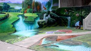biggest 3d mural painting in the philippines 3d painting youtube