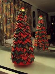 quilted christmas tree tutorial no sew fabric tree youtube