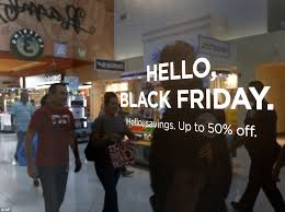 black friday sales get underway across the country daily mail