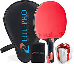best table tennis paddle for intermediate player amazon com hit pro ping pong paddle with killer spin effect for