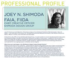 Proffesional Profile Student Charette Profile Of A Student And Professional