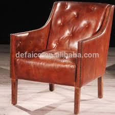 Vintage Brown Leather Armchair President Vintage Brown Leather Buttoned Armchair Buy Brown