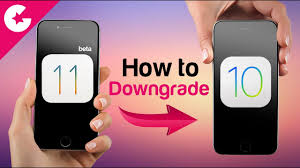how to downgrade ios 11 beta to ios 10 3 2 without losing data