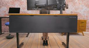 Cable Organizer Desk by Uplift Desk Modesty Panel And Cable Management
