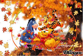 autumn winnie the pooh picture 101361216 blingee