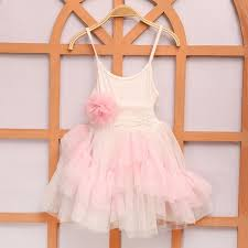 dreamy s dress layered ruffles lace tulle size 4t 5t pink
