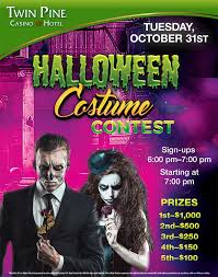 Casino Halloween Costumes Halloween Costume Contest Twin Pine Casino U0026 Hotel