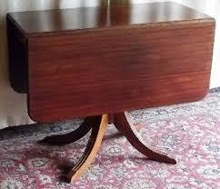 antique mahogany pedestal table furniture tables 1900 1950 antiques browser