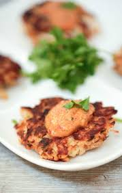 Main Dish With Sauce - cajun crabcakes with remoulade sauce food done light