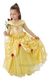 disney premium princess girls fancy dress deluxe fairytale kids