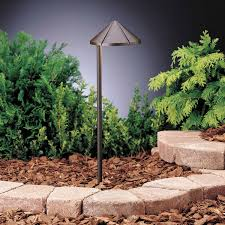Led Landscape Lighting Low Voltage by Kichler 15315azt One Light Path U0026 Spread Landscape Path Lights