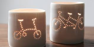brompton and tandem fans cutest bicycle tea light holders