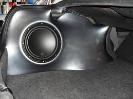 how to make a fiberglass subwoofer box 19 steps with pictures fiberglass subwoofer enclosures present some real advantages for a