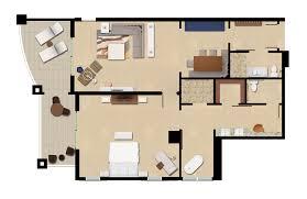 in suite floor plans guest rooms and suites playa largo resort