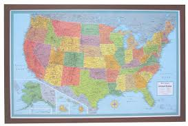 map usa framed united states wall map framed map usa framed 12 1000 images about