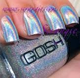 chanel holographic nail polish on the hunt