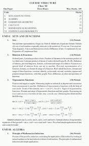 cbse syllabus for class 11 maths 2014 2015 ncert solutions