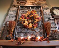 the tuscan home fall mantle fall decor pinterest fall decor