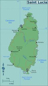 Map Of Coral Reefs Wps Geography Soufriere Marine Management Area