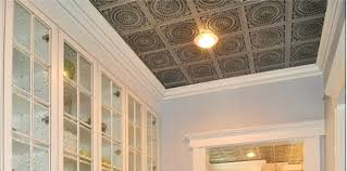 ceiling comtemporary 10 kitchen with metal ceiling tiles on