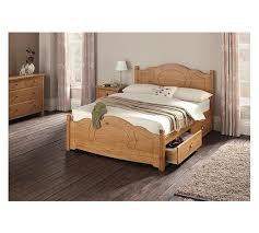 buy collection sherington single 2 drawer bed frame pine at