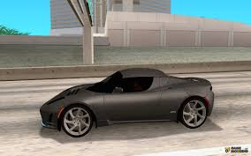 tesla roadster sport tesla roadster sport for gta san andreas